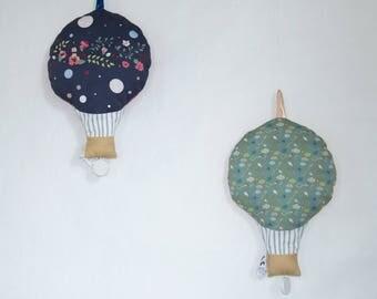 cushion musical balloon bird motif child baby hot air balloon musical pillow baby child
