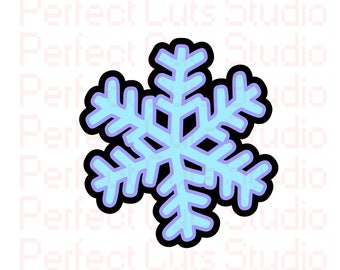 Snowflake SVG and Studio 3 Cut File Christmas for Cricut Silhouette Brother Designs File SVGs Snow Flake Winter Cutouts Downloads Ornament