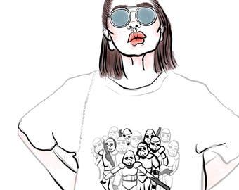 fashion illustration etsy