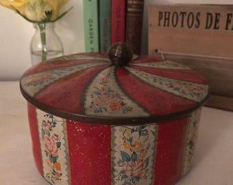 Vintage Horner's Confectionery tin