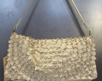 PETAL 2 recycled leather bag