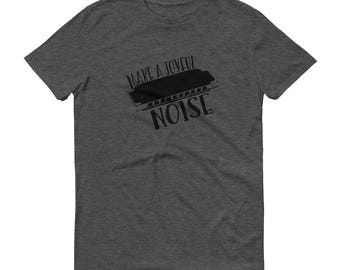 Make A Joyful Noise Tee (Harmonica)