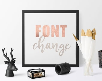 Font Change | Text Change | Add-on