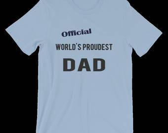 Dad's Personalised Gift, Funny Dad Shirt, Funny Gift For Dad, Personalized Tshirt For Men. Great T Shirt Gift For Your Dad. T-Shirts For Dad