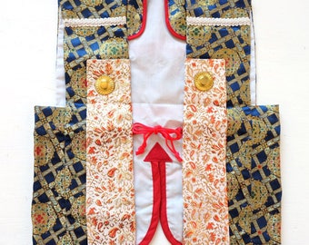 Authentic Japanese Vintage Boy's Small Hifu Decorative Waistcoat  M45