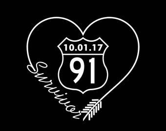 Route 91 Survivor Decal
