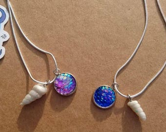 Shell Mermaid Necklace