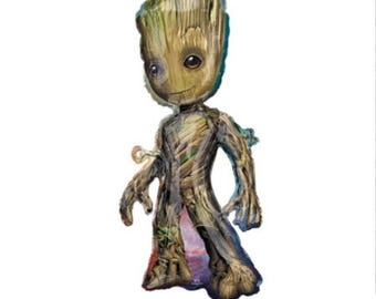 BIG Groot Balloon - Guardians of the Galaxy - Guardians of the Galaxy Decorations - Guardians of the Galaxy Party