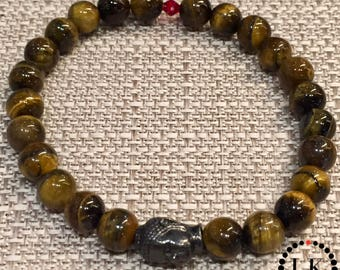 ESSENCE - Tigers Eye Buddha Bracelet