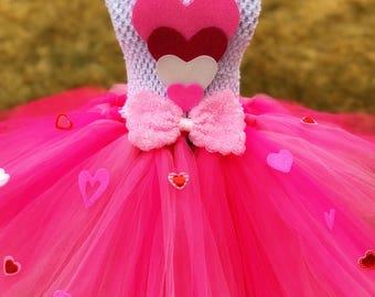 Valentine's Day Tutu Dress