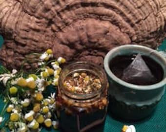 German Chamomile Infused Raw Honey