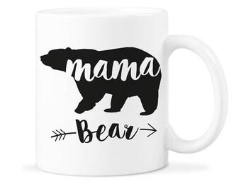 Mama Bear Mug Mom Bear Mug Mother Bear Gift Mom Bear Mug Gift Mom Bear Coffee Mug Mom Bear Coffee Cute Mug for Mom Mother Bear Mug