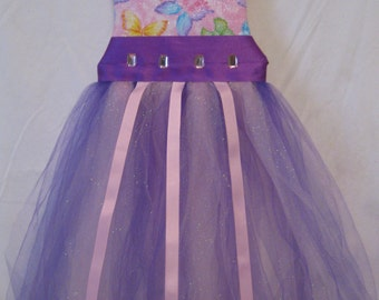 Butterfly tutu hairbow holder