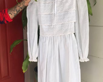 REDUCED PRICE! Vintage Boho Lace Dress