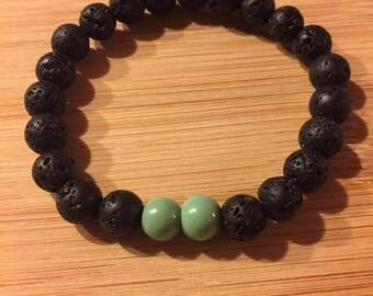 Essential Oil Diffuser Lava Bead Bracelet