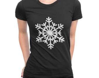 Snowflake SVG Christmas SVG Cut file winter Tshirt Cutting file SVG Dxf Eps Ai Pdf Png Jpg Files for Cricut Silhouette and more