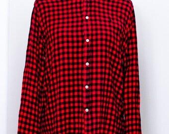 Vinage Scandia Woods Plaid Flannel Shirt.