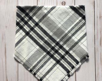 Baby Toddler Blanket Scarf, Flannel Plaid, Fall Winter