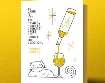 Vino Kitty – To Drink is Not the Answer