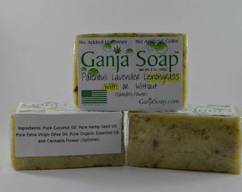 Ganja Soap Lemongrass (With)