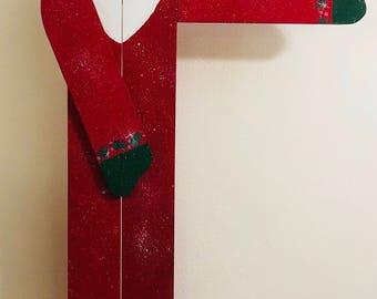 Handmade Wooden Santa Claus
