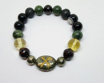 Bracelet for attracting financial well-being