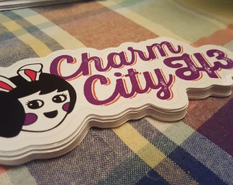 Charm City H3 Logo Decal