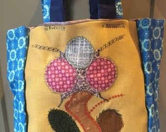 Small sized handmade handbag