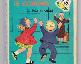 A Ding Dong School Book GRANDMOTHER IS COMING by Miss Frances Children's Storybook