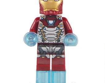 Ironman Mark 47 Marvel Super Hero Mini Figure fits LEGO