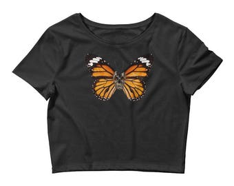 Butterfly Effect - T-Shirt - Unique t shirt - art tshirt - punk clothing for women - skateboarding shirt