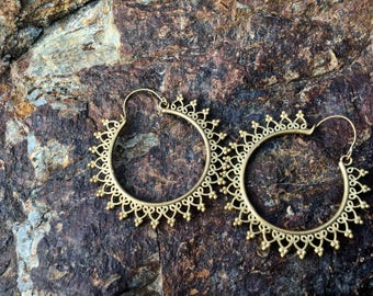 Tribal Ethnic Earrings Soleil earrings
