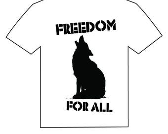 wolf . freedom for all