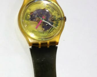 Rare Vintage Swatch Watch Techno Sphere GK101