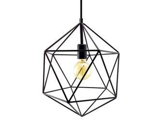 Geometric lighting | Etsy