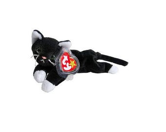 Ty Beanie Babies Zip the Cat 1993
