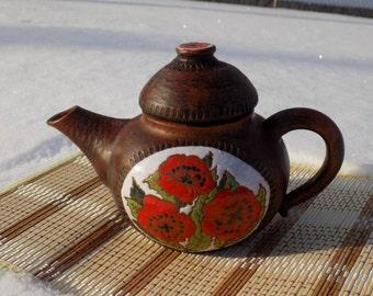 Pottery, handmade ceramics, teapot, ceramic teapot, stoneware
