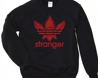 Demogorgon Shirt - Sweatshirt. Adidas Demogorgon Sweatshirt. Stranger Adidas Demogorgon Sweater. S-3XL.