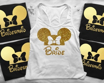 Disney Bridal Shirts, Disney Heat Shirt, Disney Wedding, Wedding Shirts Disney, Castle Shirts, Disneyland Bachelorette Party Shirts, b 1