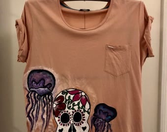 Personalized Hand painted  T-shirts