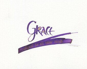 Grace sufficient for all your needs