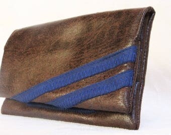 Tobacco Brown/Blue