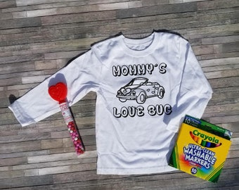Custom Coloring shirts WITH MARKERS & CANDY