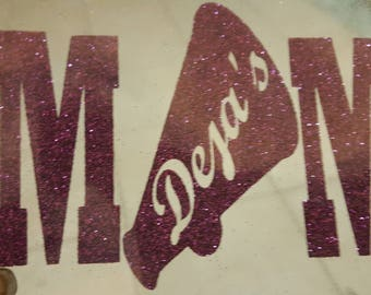 Cheer Mom Iron On or Decal