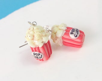 Popcorn earrings, handmade earrings, popcorn earrings, popcorn earrings, earrings for her, modern earrings, handmade earrings, earrings