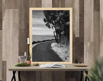 Photography Print, Printable Wall Art, Landscape Photography Print, Printable Wall Decor, Pinole Shoreline