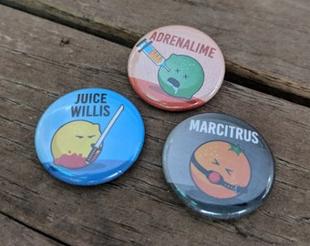 Extra Pulp Fiction - Button Pack