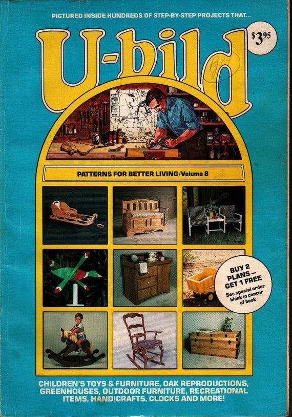U-bild Patterns For Better Living, Volume 8 - Photographic Illustrations - 1983 - Vintage How-to Book