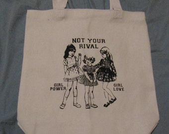 Not Your Rival TOTE BAG