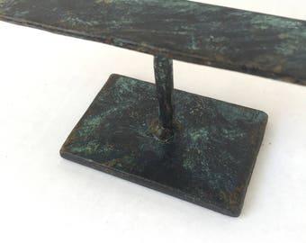 Jewelry Display Riser - Steel Ring Holder - MP16 - 8 x 2 x 2.5